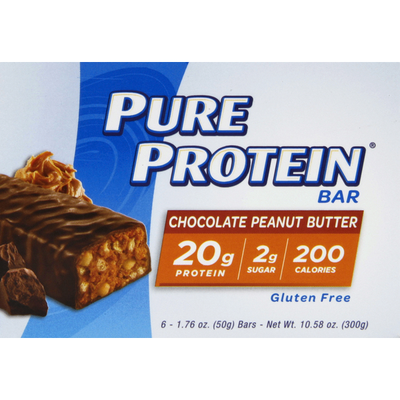 Pure Protein Protein Bar, Chocolate Peanut Butter