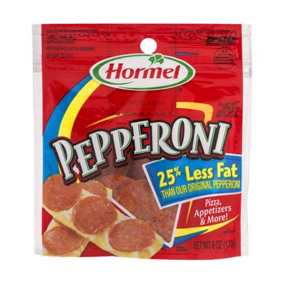 Hormel 25% Less Fat Pepperoni