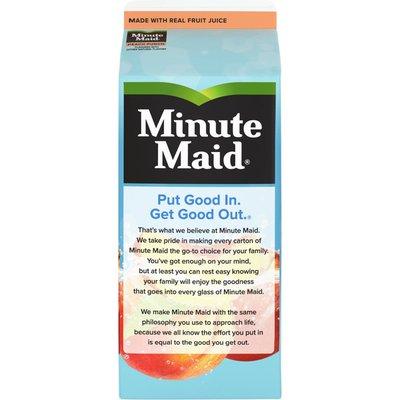 Minute Maid Premium Peach, Fruit Juice Drink