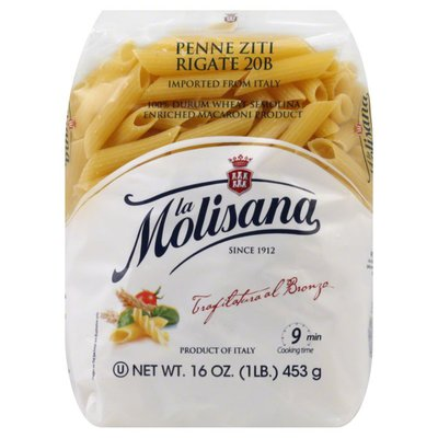 La Molisana Penne Ziti Rigate N° 20 Pasta