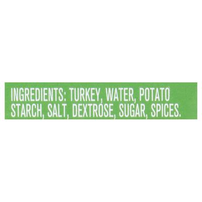 Jones Dairy Farm Golden Brown All Natural Turkey Sausage Patties