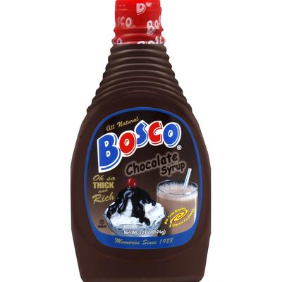 Bosco Syrup, Chocolate