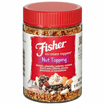 Fisher Nut Topping