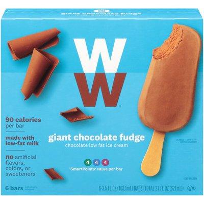 Weight Watchers Chocolate Fudge Ice Cream GIANT Bar