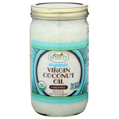 Sprouts Unrefined Organic Virgin Coconut Oil