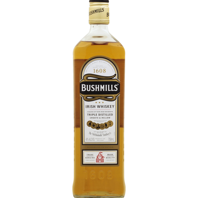 Bushmills Whiskey, Irish