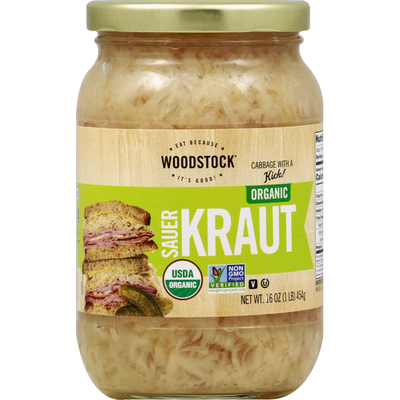 WOODSTOCK Organic Sauerkraut