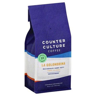 Counter Culture Coffee Coffee, Whole Bean, La Golondrina