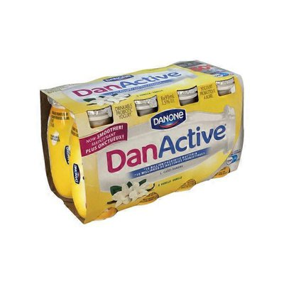 Danone Danactive Vanilla Probiotic Drink