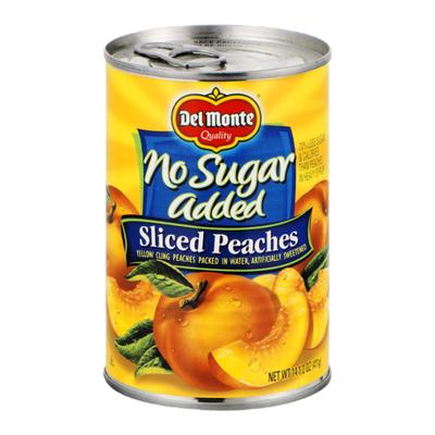 Del Monte Sliced Peaches, No Sugar Added