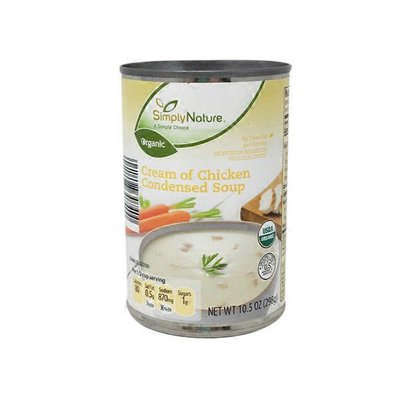 Simply Nature Organic Cream Of Chicken Condensed Soup