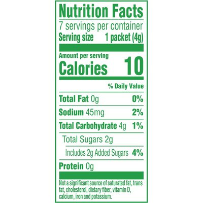 Crystal Light Lemonade Naturally Flavored Powdered Drink Mix with No Artificial Sweeteners