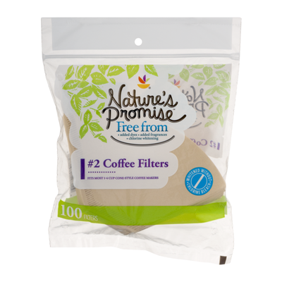 Nature's Promise 2 Coffee Filter - 100 CT