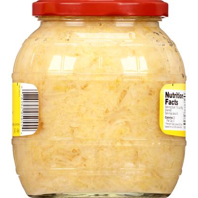 Kühne Barrel Sauerkraut, Traditional German