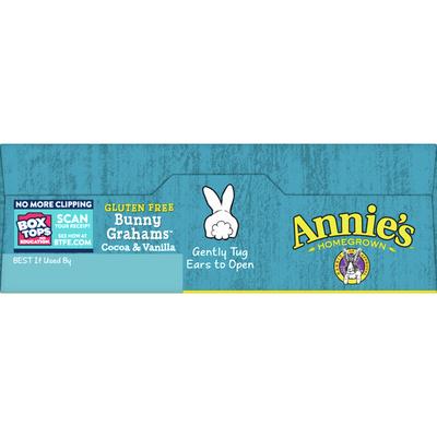 Annie's Cocoa & Vanilla Bunny Cookies, Gluten Free