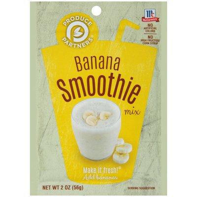 McCormick® Produce Partners® Banana Smoothie Mix