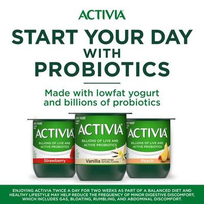 Activia Probiotic Black Cherry & Mixed Berry Variety Pack Yogurt