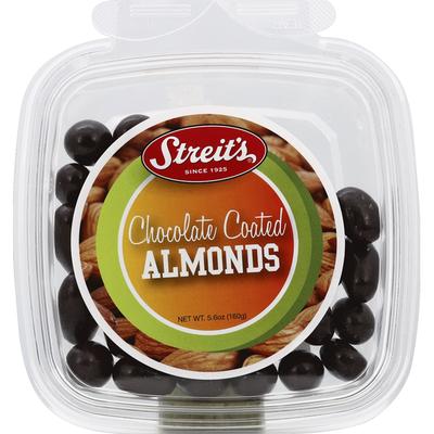 Streit's Almonds, Chocolate Coated