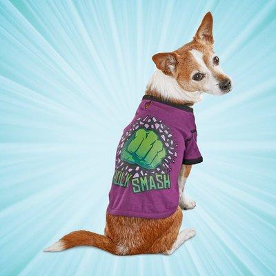 Marvel Extra Small Hulk Dog T-Shirt