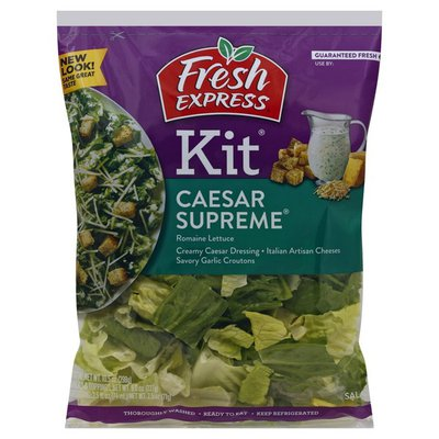 Fresh Express Salad Kit, Caesar Supreme