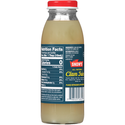 Snow's All Natural Clam Juice