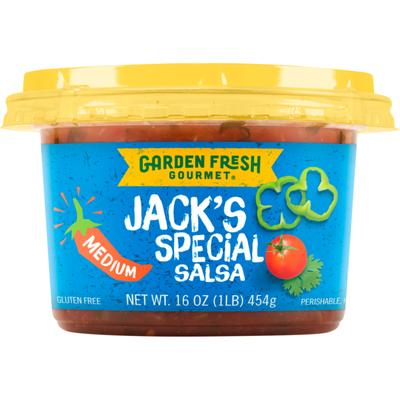 Garden Fresh Gourmet® Jack's Special® Salsa - Medium