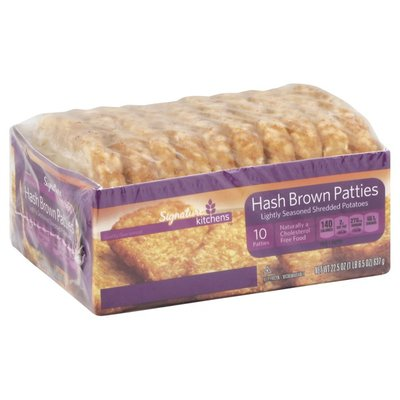 Signature Kitchens Hash Brown Patties, Family Size