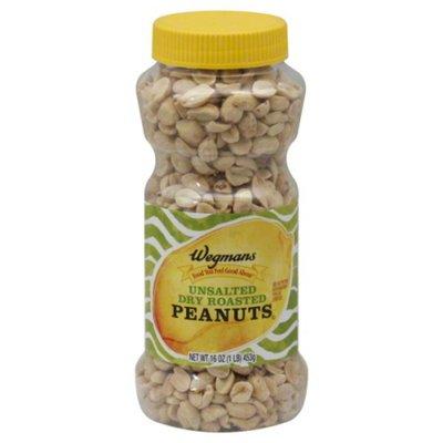 Wegmans Unsalted Dry Roasted Peanuts