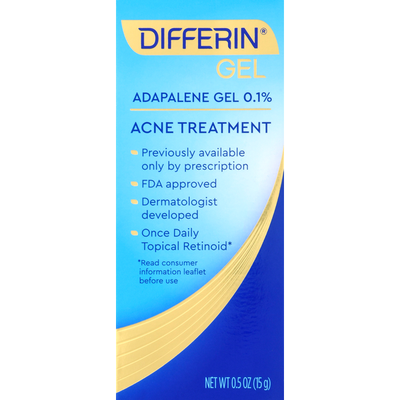 Differin Acne Treatment, Gel