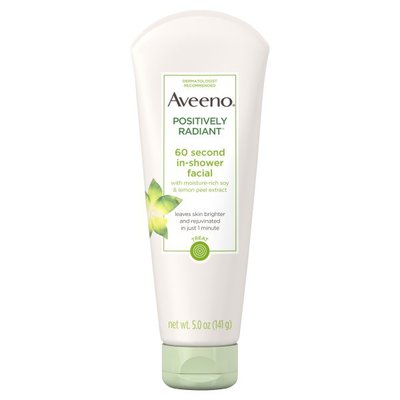 Aveeno® Positively Radiant 60 Second In-Shower Facial