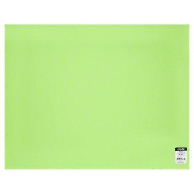 U Create Poster Board, Premium, Neon Green