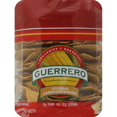 Guerrero Tostadas, Caseras Doraditas