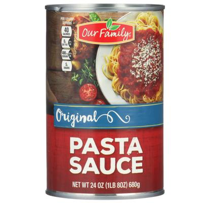 Our Family Original Pasta Sauce