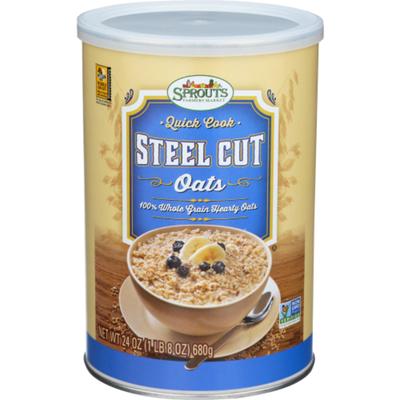 Sprouts Steel Cut Oats