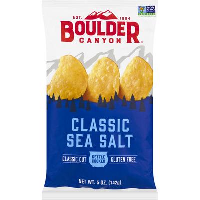 Boulder Canyon Potato Chips, Classic Sea Salt