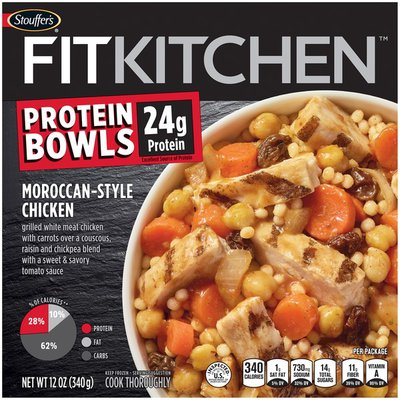 Stouffer's FIT KITCHEN Protein Bowls Moroccan-Style Chicken