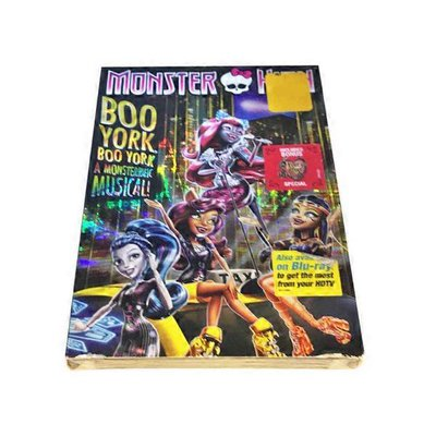 Universal Studios Home Entertainment Monster High Boo York Boo York DVD