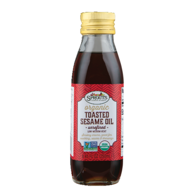Sprouts Organic Unrefined Toasted Sesame Oil