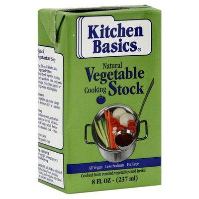 Kitchen Basics Vegetable Cooking Stock Natural 8 Oz Instacart