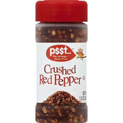 p$$t... Red Pepper, Crushed