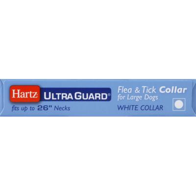Hartz Flea & Tick Collar, for Large Dogs, White, Fresh Scent