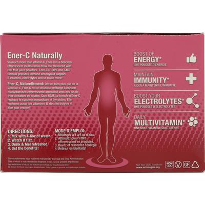 Ener-C Multivitamin Drink Mix, 1000 mg, Raspberry