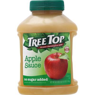 Tree Top Apple Sauce, No Sugar Added