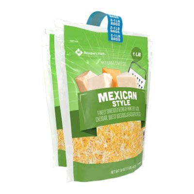 Member's Mark Mexican Style Finely Shredded Blend Of Monterey Jack, Cheddar, Queso Quesadilla & Asadero Cheese