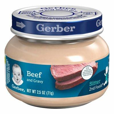 Gerber Beef and Gravy