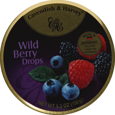 Cavendish & Harvey Drops Wild Berry