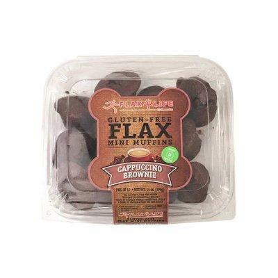 Flax4life Cappuccino Brownie Gluten-free Flax Mini Muffins