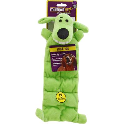 Multipet Dog Toy, Loofa