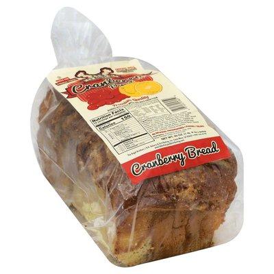 Bb Bakery Bread, Cranberry