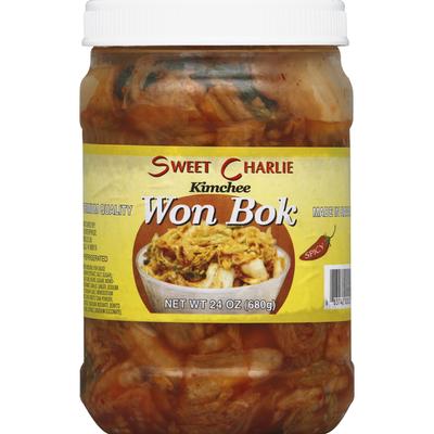 Sweet Charlie Kimchee, Won Bok, Spicy